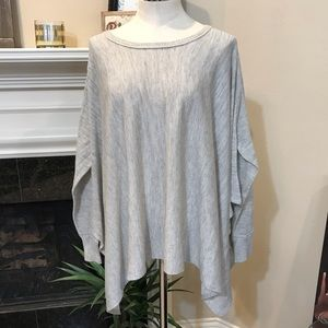 Knox Rose Oatmeal/Gray XL/L shawl/cape